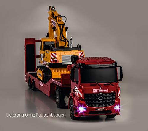 RC Auto kaufen Baufahrzeug Bild 6: Carson 500907307 1:20 MB Arocs Goldhofer Spiel*