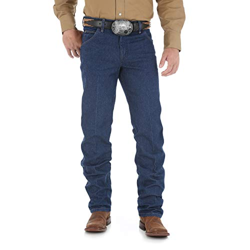 Wrangler Herren Premium Performance Cowboy Cut Regular Fit Jeans - Blau - 44W / 30L