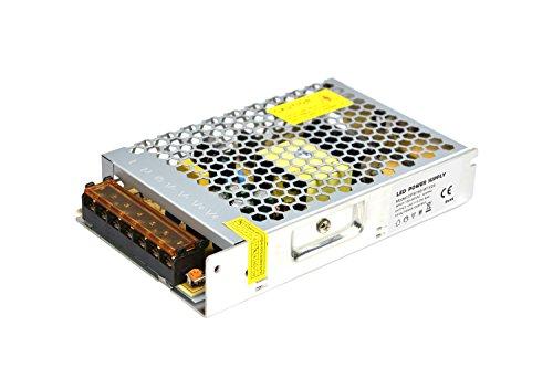 Dapenk Caja de Aluminio Ultra Fina para Interiores con Malla Fuente de alimentación de la Serie CPS 150W 24V para lámpara de Tira LED (CPS150-W1V24)