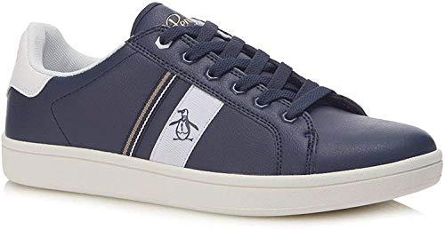 Original Penguins Men's Low-Top Trainers, Blue Dark Sapphire Stripe 303, 42