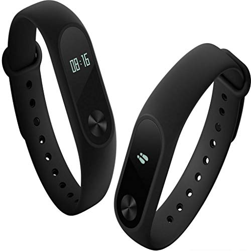 Xiaomi Mi Band 2, Smartwatch Bluetooth 4.0 per Fitness, Nero