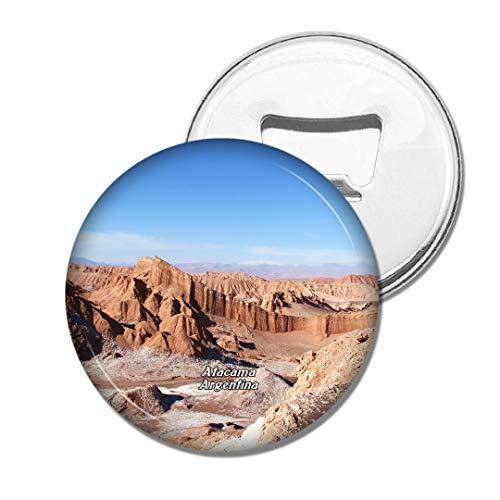 Weekino Vallée De La Lune San Pedro De Atacama Chili Bière Ouvre-Bouteille Aimant De Réfrigérateur Voyage Souvenir Autocollant de réfrigérateur Fort