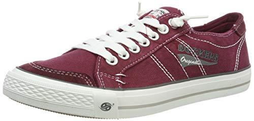 Dockers by Gerli Herren 30ST027-790700 Sneakers, Rot (Rot 700), 42 EU