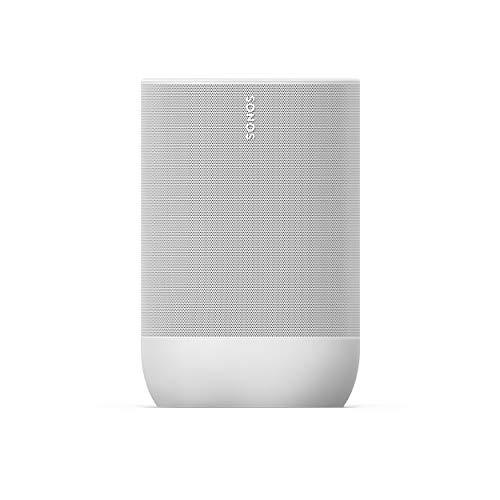 Sonos Move ネットワークスピーカー Bluetooth/AirPlay/Wi-Fi/ストリーミング対応 Amazon Alexa搭載 ルナーホワイト MOVE1JP1