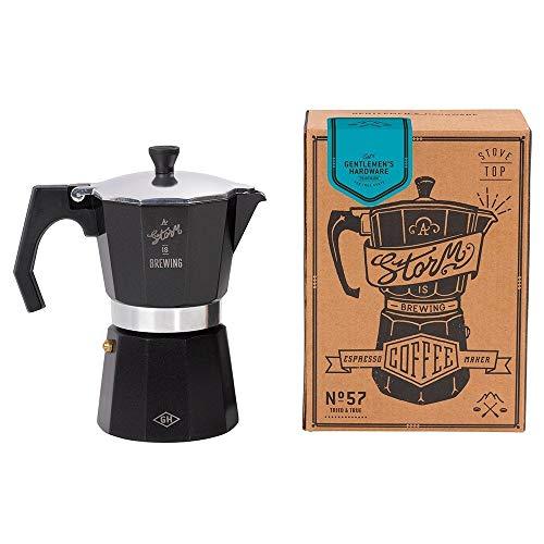 Gentlemens Hardware AGEN057 Aluminium Stovetop Espresso Coffee Maker