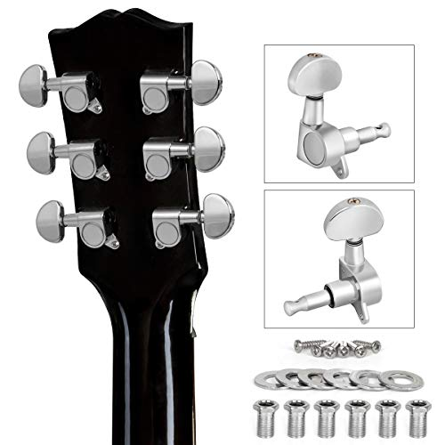Hordion 3L 3R Guitar String Tuning Peg Tuner Guitar Machine Heads for Classical Acoustic Folk Guitar