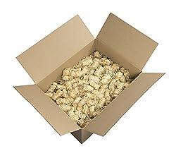 mgc24® Anzünder aus Holzwolle und Wachs Ofenanzünder Kaminanzünder Grillanzünder Ökologisch Kaminholzanzünder Holzanzünder 3kg (ca. 250 Stück)