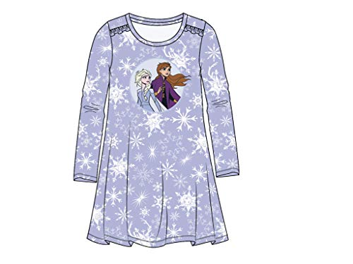 Frozen Die Eiskönigin Nachthemd lila (116)