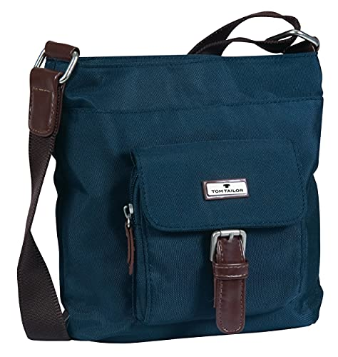 TOM TAILOR bags RINA Damen Schultertasche one size, blue, 23x4x22