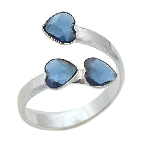 Crystals&Stones Mujer plata corazón