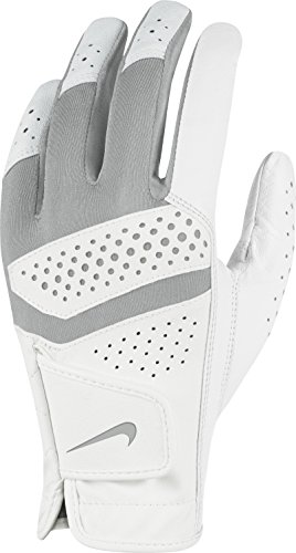 Nike Tech Extreme VI–Regular Left Hand Damen Handschuhe L Weiß/Grau