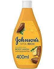 JOHNSON'S, Body Wash, Vita-Rich, Nourishing, 400ml