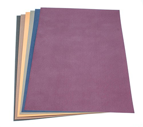 Clairefontaine Pastelmat Board Trial Pack - Dark Colours - 6 sheets 25x35cm