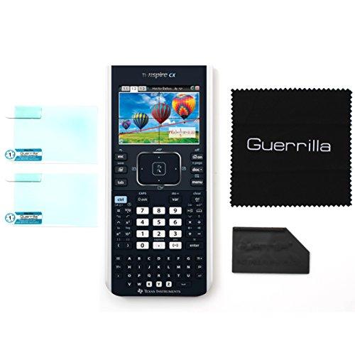 Guerrilla Military Grade Screen Protector 2-Pack For TI Nspire CX, CX CAS, CX II, and CX CAS II Graphing Calculator Photo #3