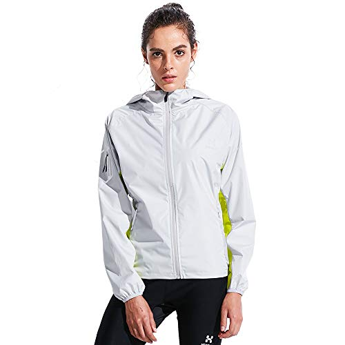 HOTSUIT Sauna Jacket Women Weigh Loss Gym Exercise Durable Sweat Sauna Suit Gray M