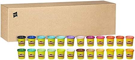 Play-Doh – 24 Pots de Pate à Modeler de Couleurs - 84 g Chacun