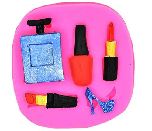 Silikonform für Make-up, Dress Up, Nagellack, Lippenstift, High Heels, Parfüm, Dekoration,...