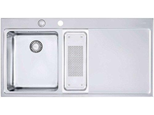 Franke Mythos MMX 251 de acero inoxidable-fregadero suave el fregadero de la cocina fregadero rieber