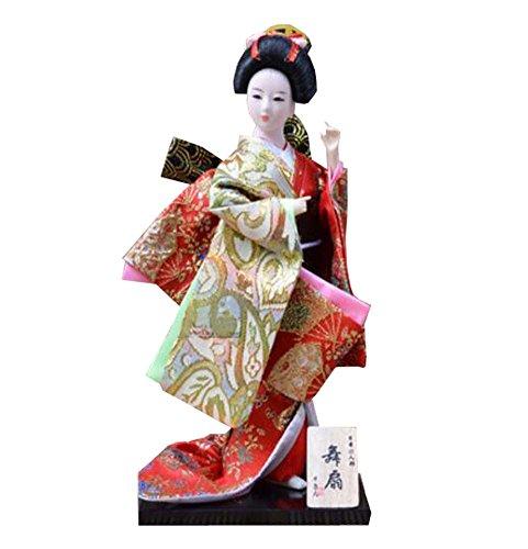 Black Temptation Japanische Kimono Puppe Geisha Figur Ornamente Geschenk Kunst Handwerk Sammlung / Geschenk, D