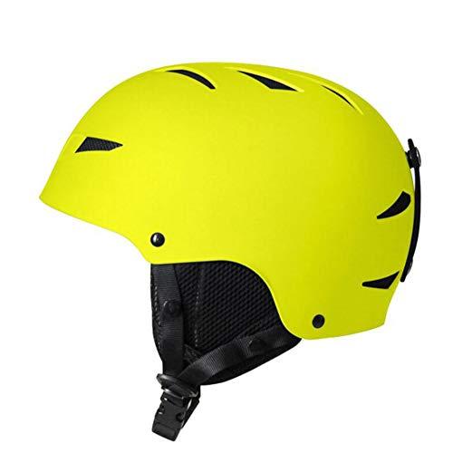 LSGMC Casco unisex para deportes de nieve para adultos, 800 g, orejeras gruesas extraíbles, certificado de seguridad, XL