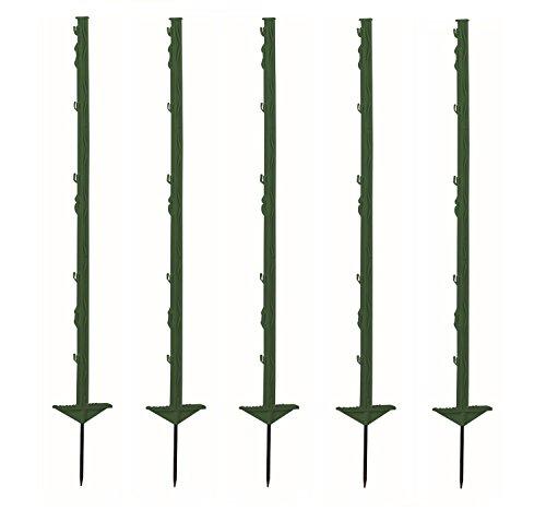 Growi Weidezaunpfahl Kunststoff 105 cm grün 20 Stück