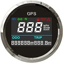 ELING Digital GPS Speedometer Trip Meter Resetable Odometer Adjustable for Boat Yacht Motorcycle Car 2