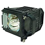 HAOHAIO 915P061010 Replacement Lamp with Housing for Mitsubishi WD-57733 WD-57734 WD-57833 WD-65733 WD-65734 WD-65833 WD-73733 WD-73734 WD-73833 WD-C657 WD-Y577 WD-Y657