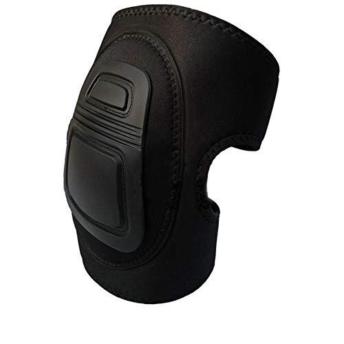 N/A Almohadillas Protectoras de Rodilla tácticas Ajustables Airsoft Set Rodilleras de Combate de Paintball Deportivo 1 par