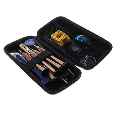 PETSOLA Kit de Destornilladores de Herramientas de Reparación de Apertura 21 en 1 para Teléfono Móvil Tablet PC