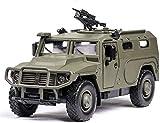 Foanerwi Simulación Diecast Vehículos Modelo, 1: 32 del Ejército Diecast Camión Blindado De Coches Juguetes Militares, con La Función De Sonido De Luz, Regalo De Cumpleaños para Niños