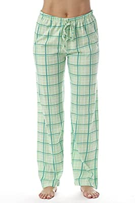 Just Love Women Plaid Pajama Pants Sleepwear 6324-MNT-10281-M from