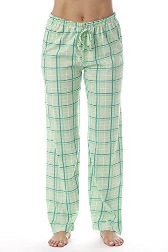Just Love Women Plaid Pajama Pants Sleepwear 6324-MNT-10281-XL