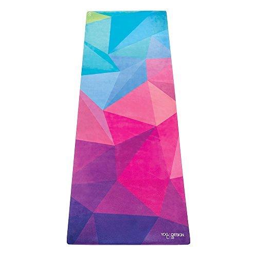 Yoga Design Lab La Esterilla de Yoga Combo 3.5mm Dos en Uno | Antideslizante | Acolchada | Ecológica | Lavable a la Máquina (Geo)
