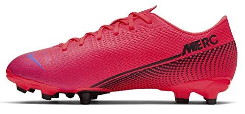 Nike Unisex Kinder Vapor 13 Academy Firm Multi Ground Fußballschuh, schwarz, 28.5 EU