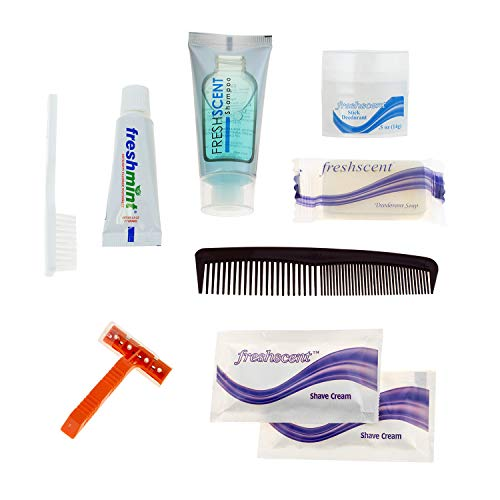 24 Kits - Bulk Case of Wholesale Deluxe Hygiene & Toiletries for Men, Women, Travel, Charity