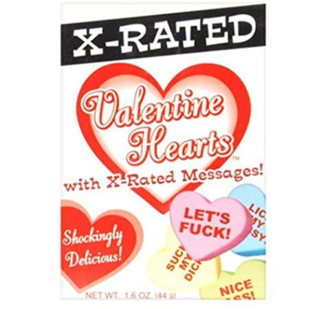 X Rated Valentine Candy Hearts