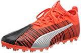 puma one 5.3 mg, chaussures de football homme, black-nrgy red aged silver 01, 9 eu
