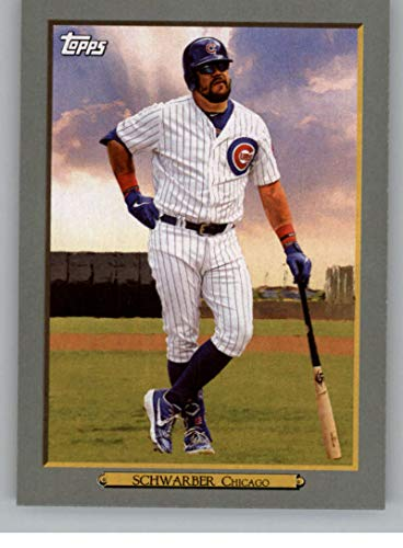 2020 Topps Series 1 Baseball Turkey Red #TR-22 Kyle Schwarber Chicago Cubs Official MLB Trading Card (Retail Exclusive Insert)