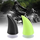 Casco moto corno demone corno demone con ventosa motocross viso pieno di accessori per la ...
