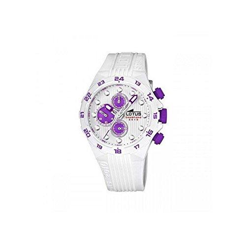 Lotus Reloj analogico para Mujer de Cuarzo con Correa en Caucho 15730