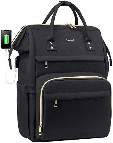 Laptop Backpack Women Teacher Backpack Nurse Bags 15 6 Inch Womens Work Backpack Purse Waterproof product image