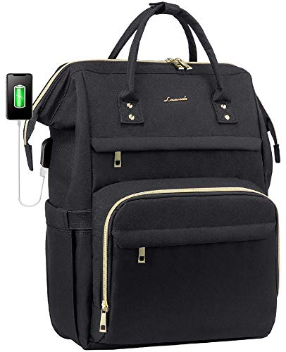 Laptop Backpack Women Teacher Backpack Nurse Bags, 15.6 Inch Womens Work Backpack Purse Waterproof...