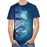 SSBZYES Camisetas para Hombre Camisetas De Manga Corta para Hombre Camisetas De Cuello Redondo para Hombre Camisetas De Talla Grande para Hombre Camisetas Estampadas para Hombre Tops De Verano