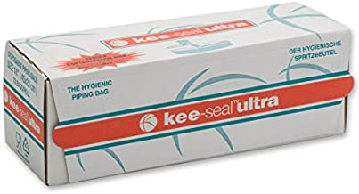 DecoPac Kee-Seal Ultra Disposable Pastry Bags, 18-Inch, Clear