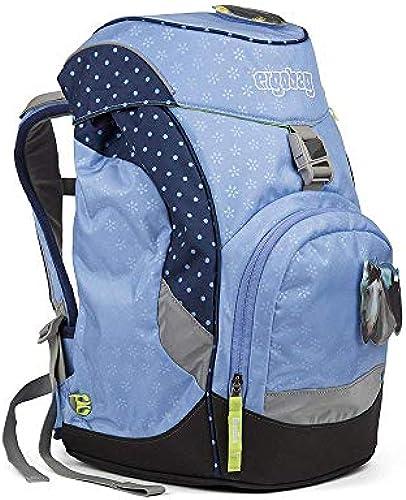 ERGOBAG HimmelreitB Kinder-Rucksack, 35cm, Blaue Punkte