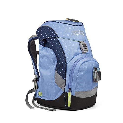 ERGOBAG HimmelreitBär Kinder-Rucksack, 35 cm, Blaue Punkte