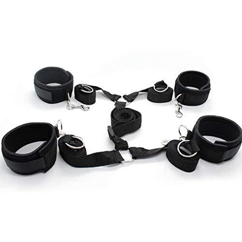 YGZ Bett Feste Position geflochten Paar Spielzeug Hand- und Fußriemen geeignet für die meisten Betten Rucksäcke