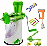 Redfam Super Duper Combo of Best Quality Hand Press Manual Juicer Machine for Juicy Fruits(COMBO-5-made in India)