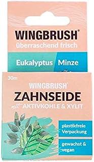 WINGBRUSH® umweltfreundliche Zahnseide Eukalyptus Minze | B