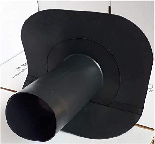 Uzman-Versand Dachgulli für EPDM Dachfolie, Dach-Gulli, Dachablauf, Dachentwässerung, Dachgully, (DN 100-45°)